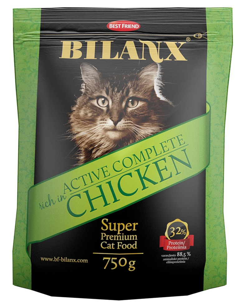 промышленный корм для кошек